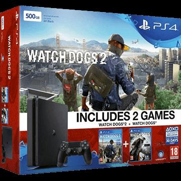PS4 Slim 500GB: Watch Dogs 2 Deals
