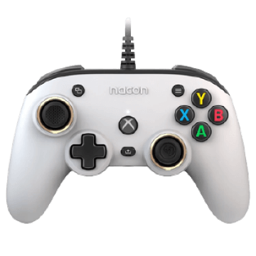 Nacon Pro Compact Wired Controller - White for Xbox