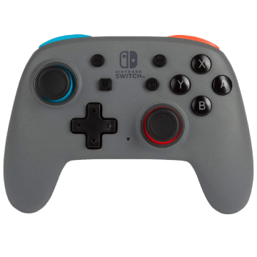 PowerA Nano Enhanced Wireless Controller - Grey Neon for Nintendo Switch