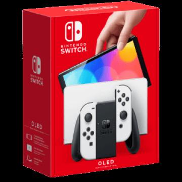 Nintendo Switch OLED: White Joy-Con