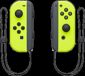 Nintendo Switch Joy-Con Controller Pair - Neon Yellow Deals