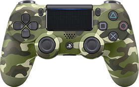 PS4 Dualshock 4 Controller: Green Camouflage Deals