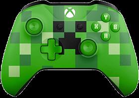 Xbox One Wireless Controller: Minecraft Creeper