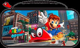 Super Mario Odyssey Deluxe Nintendo Switch Travel Case Deals
