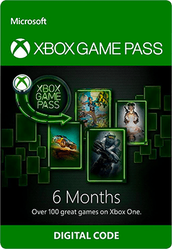 Xbox Game Pass 6 Months