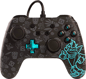 PowerA Wired Controller -  Crash Bandicoot for Nintendo Switch Deals