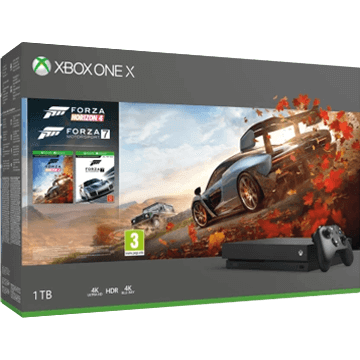 Xbox One X 1TB: Forza Horizon 4 Deals