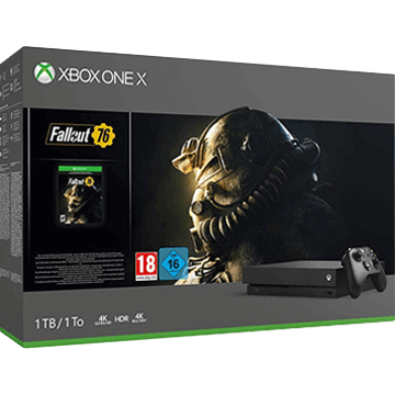 Xbox One X 1TB: Fallout 76 Deals