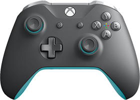 Xbox One Wireless Controller: Grey and Blue Deals