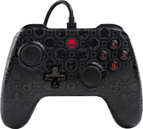 PowerA Wired Controller - Bowser Shadow for Nintendo Switch Deals