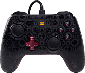 PowerA Wired Controller - Princess Peach Shadow for Nintendo Switch Deals