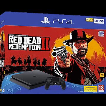 PS4 Slim 500GB: Red Dead Redemption 2 Deals