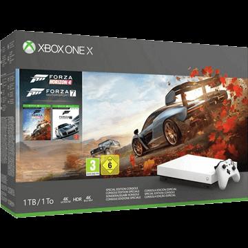 Xbox One X 1TB: Forza Horizon 4 - White Deals