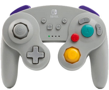 PowerA Wireless Controller - GameCube Style: Grey for Nintendo Switch Deals