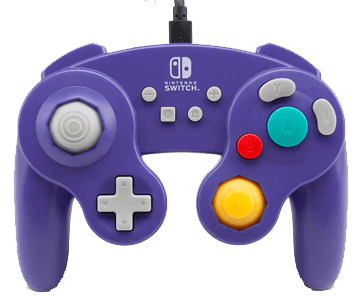 PowerA Wired Controller GameCube Style in Purple for Nintendo Switch Deals