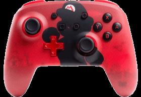 PowerA Enhanced Wireless Controller - Mario Silhouette for Nintendo Switch Deals