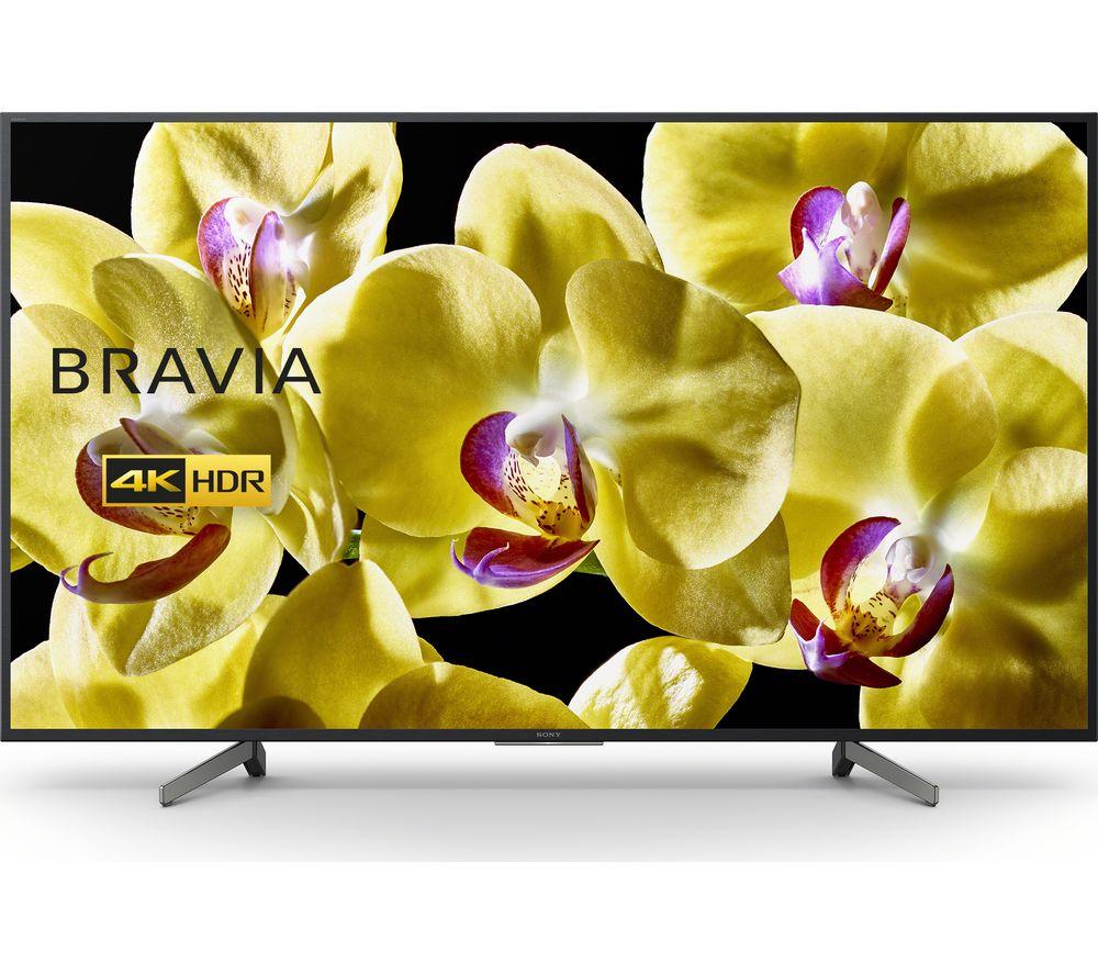"75"" SONY BRAVIA KD75XG8096BU Smart 4K Ultra HD HDR LED TV with Google Assistant, Blue price comparison"