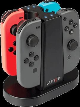 Venom Quad Joy-Con Charging Station for Nintendo Switch Deals