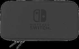 Hori Slim Tough Pouch (Black/Yellow) for Nintendo Switch Lite Deals