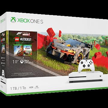 Xbox One S 1TB: Forza Horizon 4 LEGO Speed Champions Bundle Deals
