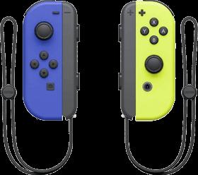 Nintendo Switch Joy-Con Controller Pair - Blue & Neon Yellow Deals