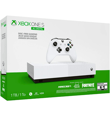 Xbox One S 1TB: All-Digital Edition V2 Deals