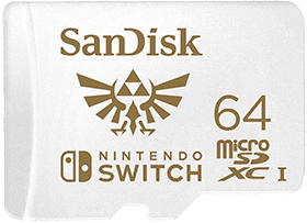 SanDisk 64GB MicroSDXC UHS-I Memory Card
