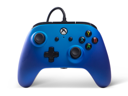 PowerA Enhanced Wired Controller - Sapphire Fade for Xbox One Deals