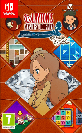 Layton's Mystery Journey: Katrielle and the Millionaires' Conspiracy Deluxe Edition