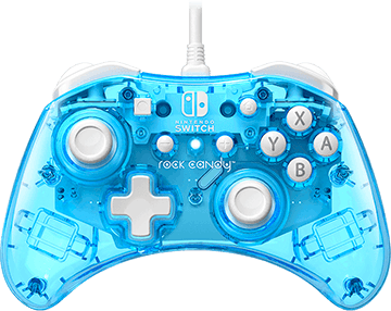 Rock Candy Wired Controller - Blue-merang for Nintendo Switch Deals