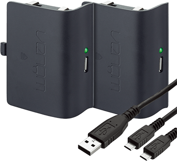 Venom Twin Rechargeable Battery Packs for Xbox One