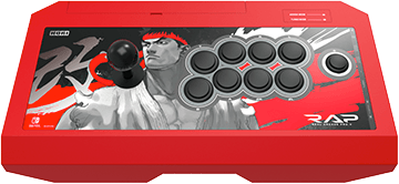 Hori Real Arcade Pro V Hayabusa Street Fighter Ryu Edition for Nintendo Switch Deals