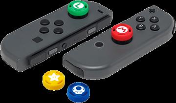 Hori Analog Caps (Super Mario Edition) for Nintendo Switch