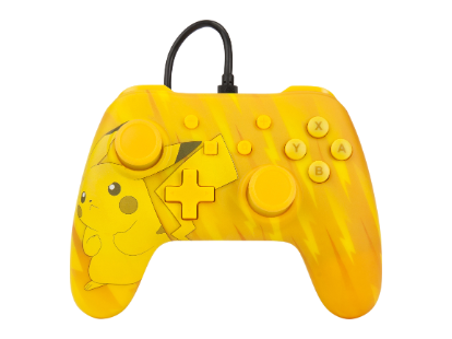 PowerA Pokemon Wired Controller - Pikachu Static for Nintendo Switch Deals