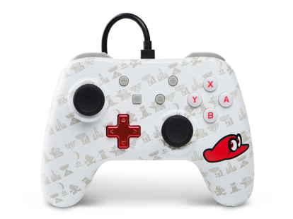 PowerA Wired Controller - Super Mario Odyssey: Cappy Edition for Nintendo Switch Deals