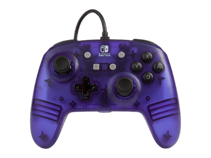 PowerA Enhanced Wired Controller - Purple Frost for Nintendo Switch Deals