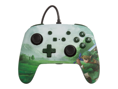 PowerA Enhanced Wired Controller - Link Hyrule for Nintendo Switch Deals