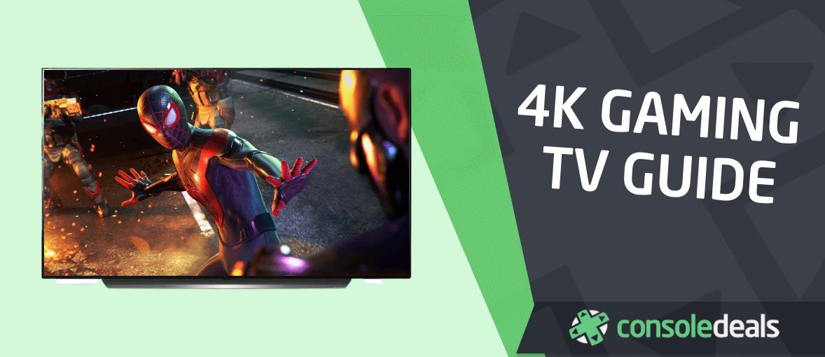 4K gaming TV guide - header image