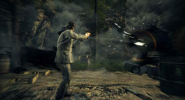 Alan Wake - shooting