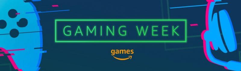 Amazon Gaming Week banner