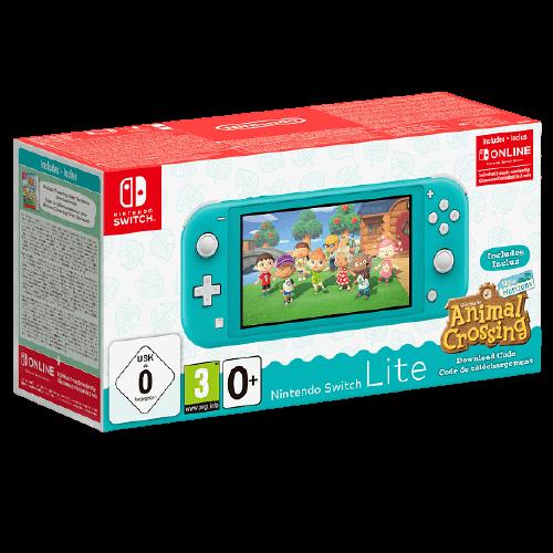 Animal Crossing Nintendo Switch Lite Turquoise