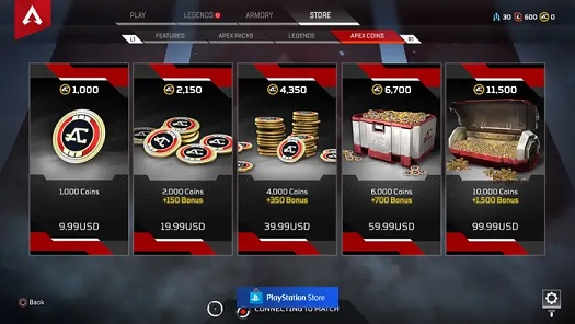 Apex Legends crates
