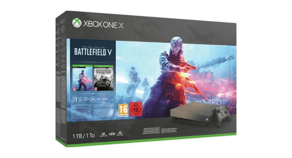 Battlefield V Xbox One X Bundle