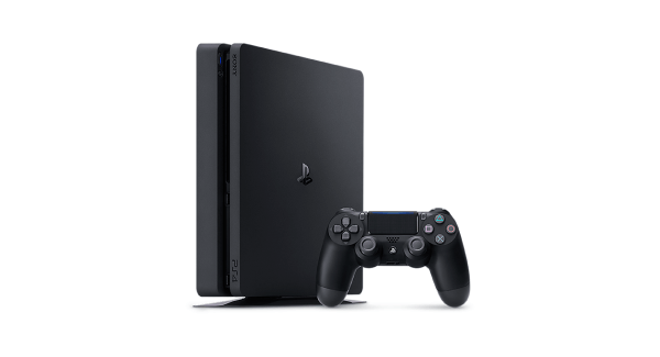 Black PS4 Slim