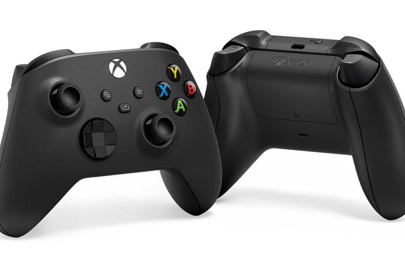 Cabon Black Xbox Series X controller