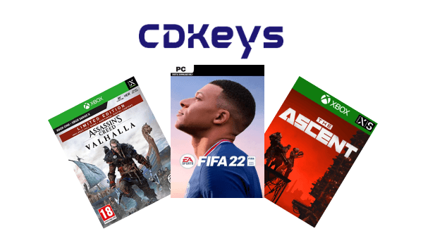CDKeys Game Fan and Logo