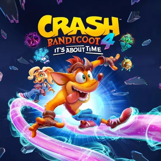 Crash Bandicoot 4 Banner