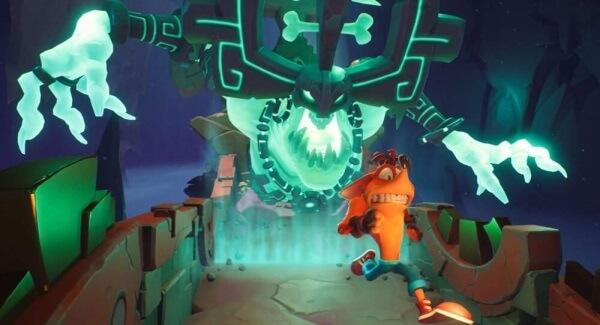Crash Bandicoot 4 - Crash run