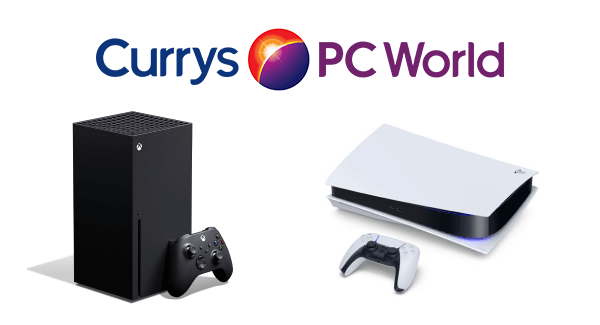 Currys PC World PS5 and Xbox Series X