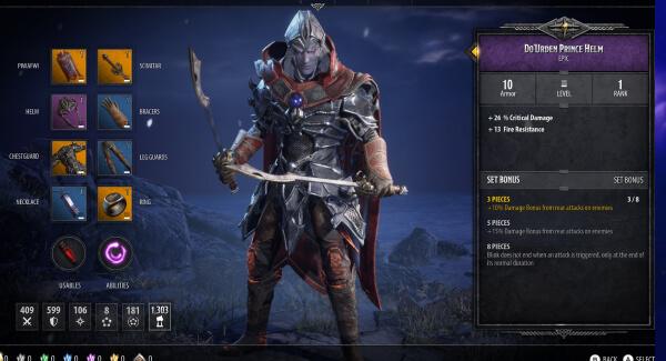 D&D Dark Alliance - character creation
